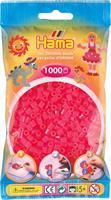 Hama perler Midi, Neon Fuchia 207-32 1000stk