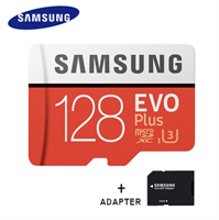 Samsung MicroSDXC Evo 128GB 100MB/s + Adapter