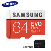 Samsung MicroSDXC Evo 64GB 100MB/s + Adapter
