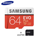 Samsung MicroSDXC Evo 64GB 100MB/s + Adapter