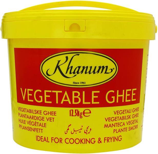 Khanum Pure Vegetable Ghee 1x12,5kg