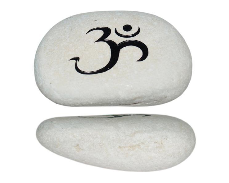 Vit sten - OM svart (6 pack)