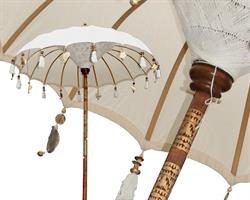 Parasoll - Bali vit L (2 pack)