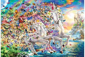 Puslespill Unicorn Fantasy, 2000 brikker