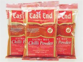 East End Chilli Powder E/Hot (zip) 20x100g