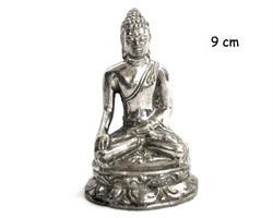 Brons - Silver Buddha 9cm (6 pack)