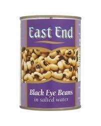 East End Black Eye Beans Tin 12x400g