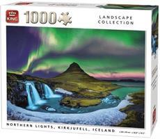 Puslespill Northern Lights 1000 brikker