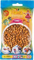 Hama perler Midi, Lys Brun 207-21 1000stk