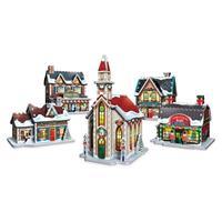 Puslespill 3D Christmas Village