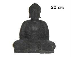 Buddha - Svart 20cm (2 pack)