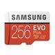 Samsung MicroSDXC Evo 256GB 100MB/s + Adapter