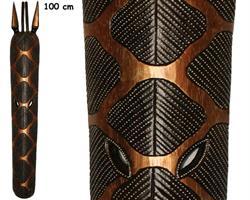 Mask - Giraff guld 100cm (4 pack)