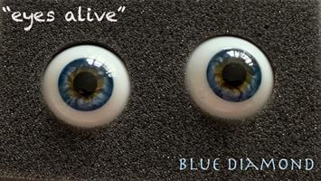 Eyes Alive - Blue Diamond 18 mm