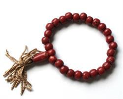 Mala - Armband Tibet röd (12 pack)