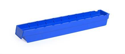 Lagerskuff 600x94x80mm blå