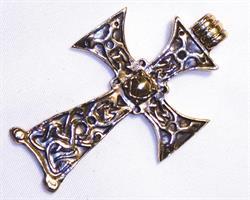 Halsband - Brons kors (3 pack)