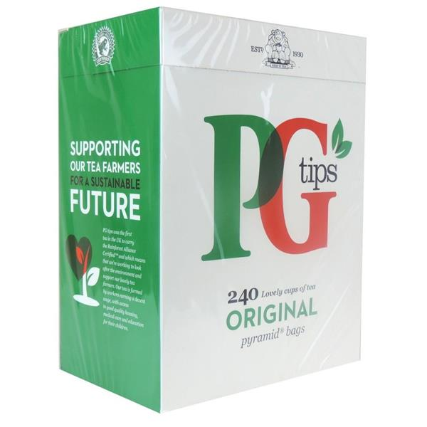 PG Tips 240 Tea-bags 4x696g