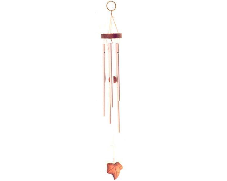 Vindspel - Blad i trä 38cm (6 pack)