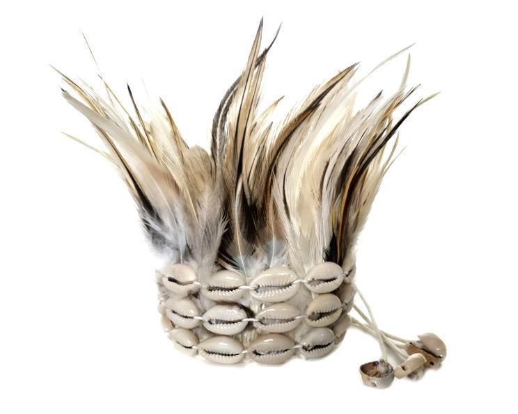 Fjäder armband - Creme (2 pack)