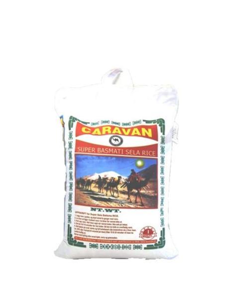 Caravan Sela Basmati Rice 4x5kg