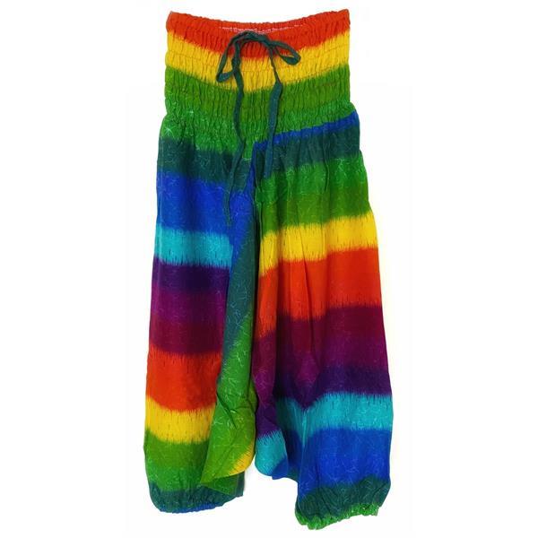 Haremsbyxor - Barn M rainbow (3 pack)