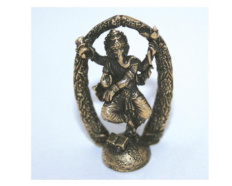 Halsband - Brons Nritya-Ganapati (3 pack)