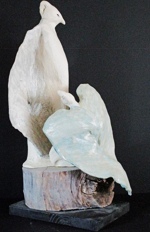 Skulptur av Lisbeth Engelin-Lindh
