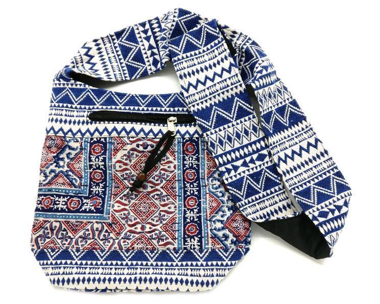 Väska - Boho blå (4 pack)