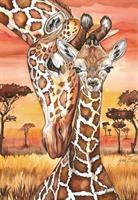 Puslespill Giraffe, 500 brikker