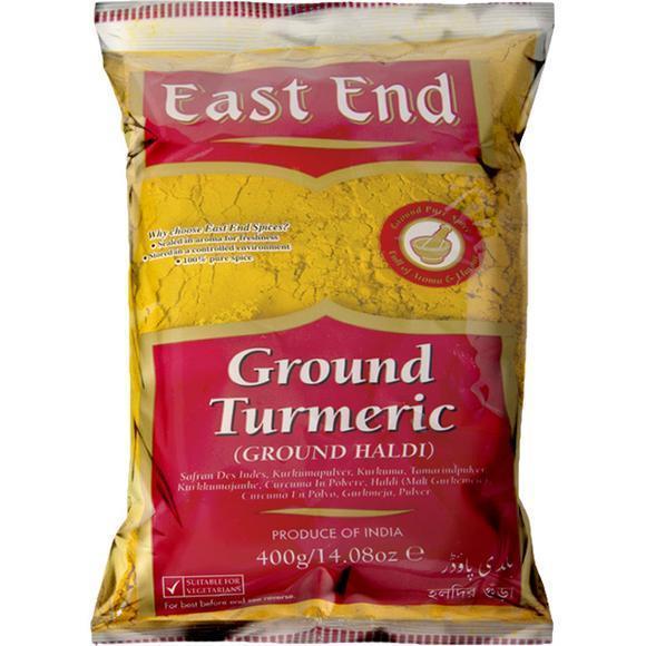 East End Haldi Powder (Gurkemeie) 10x400g