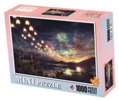 Mini Puzzle, Fyrverkeri 38*26cm (66-012) 1000 brikker