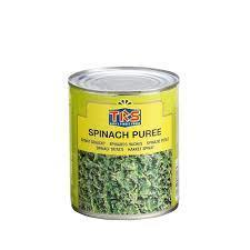 Trs Spinach Puree (chopped) 12x850g
