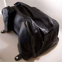 BLACK TRUNK BAG
