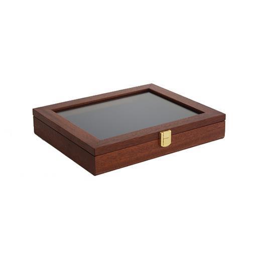 Presentationslåda, stor (ljus brun)