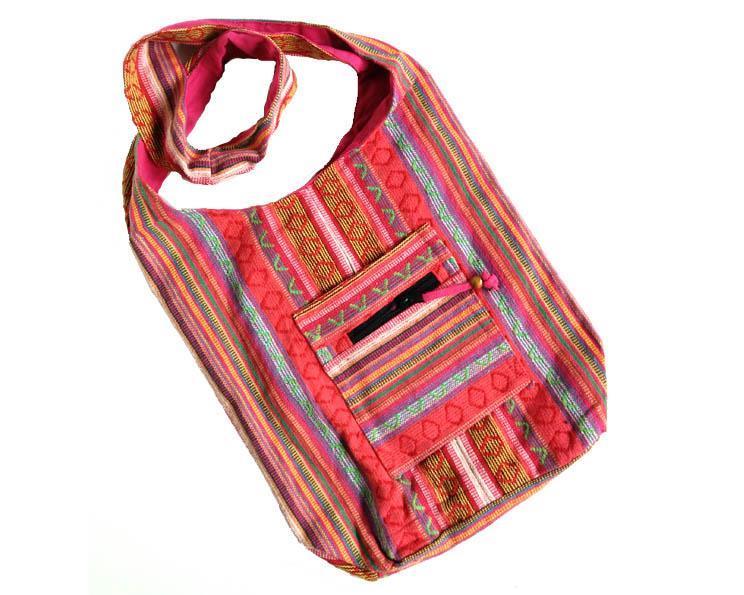 Väska - Bomull rosa (3 pack)