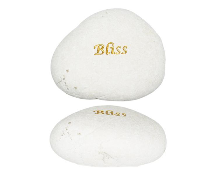 Vit sten - Bliss (12 pack)
