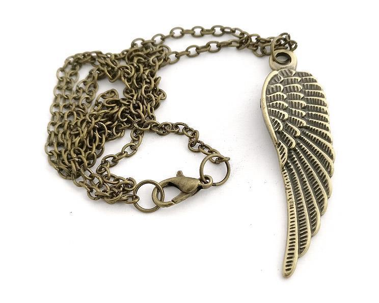 Halsband - Angelwing med kedja (4 pack)