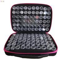 Koffert, oppbevaring av perler 120 bokser