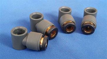 Plastic Rod Fitting (4 st)
