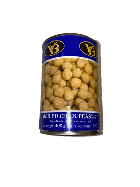 V.B. Boiled Chick Peas 12x400g