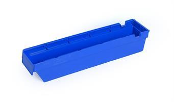 Lagerskuff 500x115x100mm blå