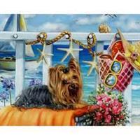 Diamond Painting, Hund 40*50cm (K847) FPK
