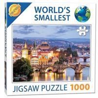 Mini Puzzle, Prague Bridges 42*29cm, 1000 brikker