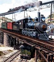 Puslespill Locomotive, 550 brikker