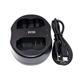 Dobbeltlader for Nikon EN-EL15 batterier