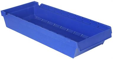 Lagerskuff 600x230x100mm blå
