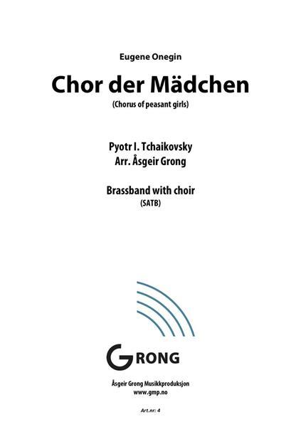Chor der Mädchen