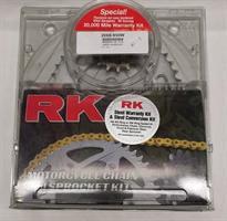 RK KJEDE & DREV- KIT KIT KAWASAKI Ninja ZX6R 95-97