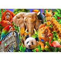 Puslespill Animals for kids, 500 brikker